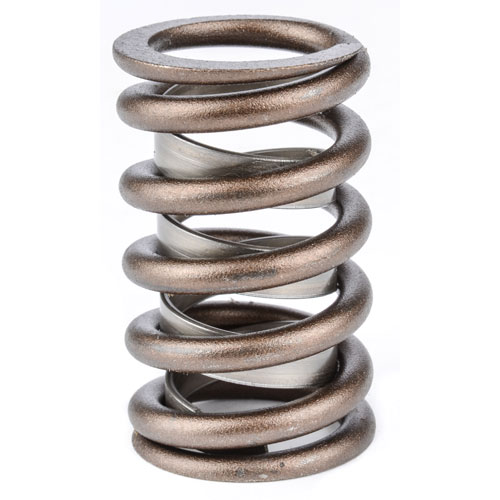 Photo: jegs.com An example of chamfer or interference-fit valve springs showing the internal and external spring.
