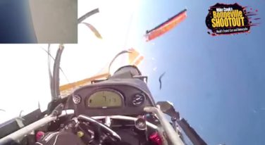 [VIDEO] Speed Demon Crashes at 370 MPH