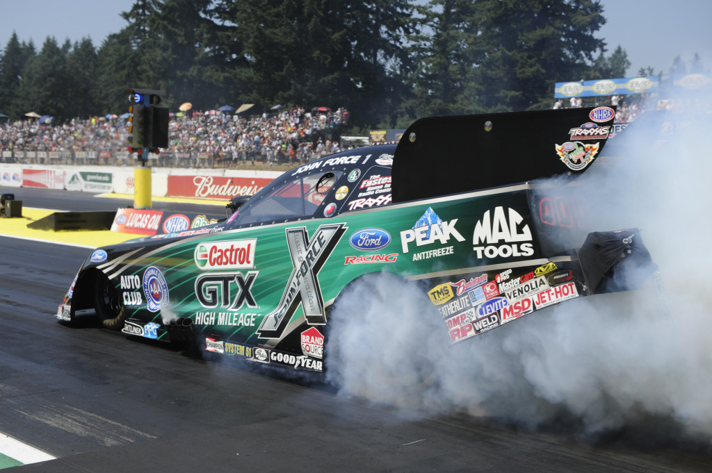 John Force isn't ready to back down in the chase for the championship.