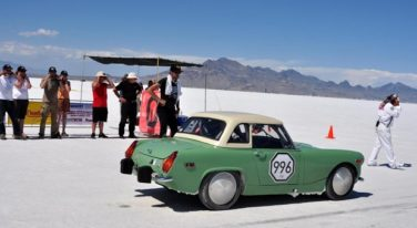 MG Midget Sets Record at Bonneville