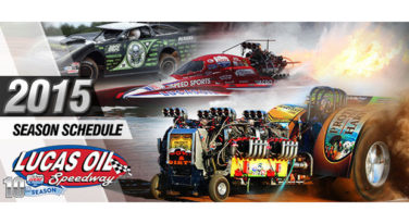 Tentative 2015 Lucas Oil Speedway Event Schedule Released
