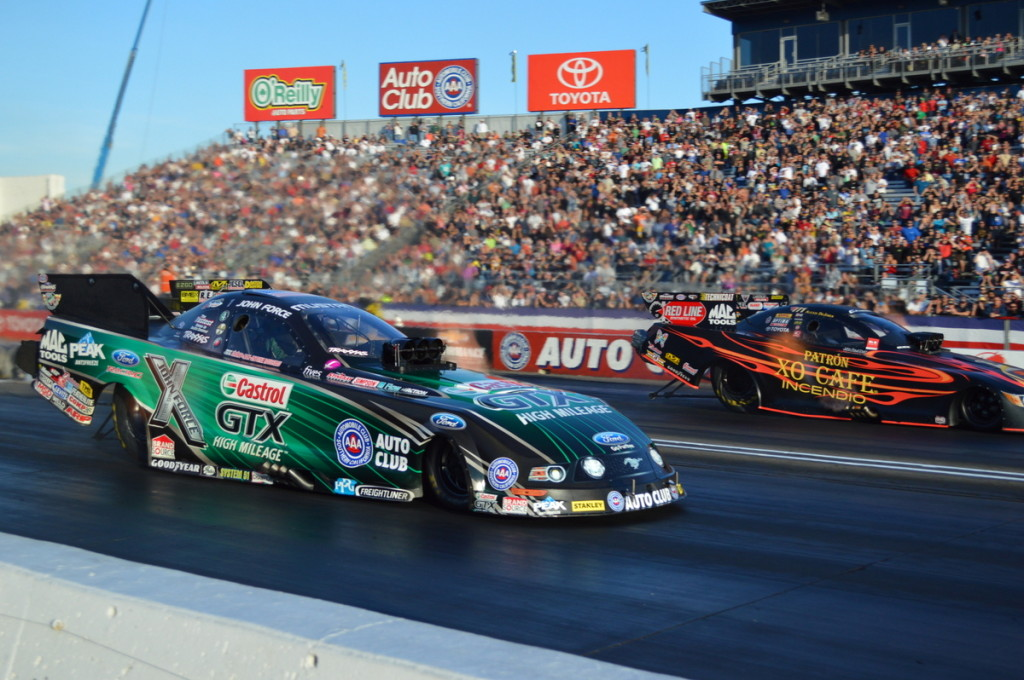 John Force vs. Alexis Dejoria
