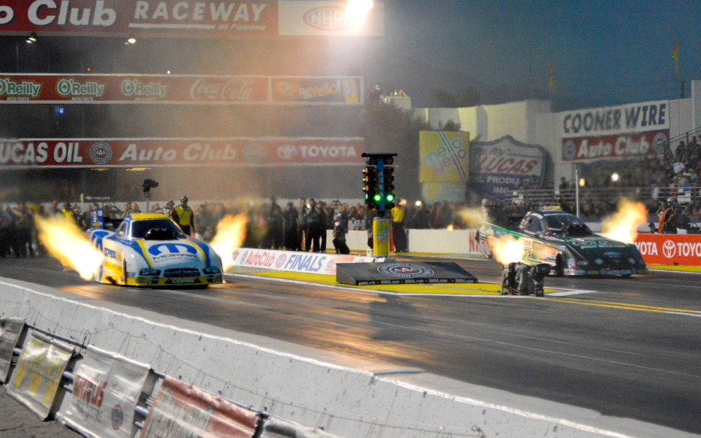 Matt Hagan vs. John Force in the final round.