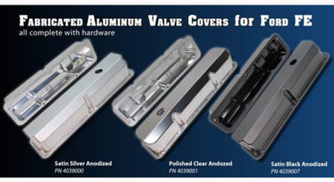 [Press Release] New Valve Covers for Ford FE!
