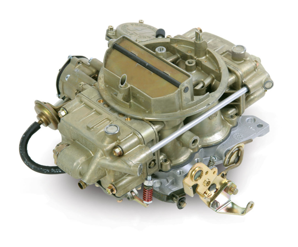 A properly tuned, vacuum-secondary carburetor will deliver better fuel mileage as compared with a Double Pumper. This is one reason why most muscle cars back in the day were delivered with Hooley vacuum secondaries. They're broadly adaptable to work on a wide range of engine sizes. This means that if you use a 750-cfm vacuum-secondary carburetor on an engine that really only needs a 650, the carburetor will work fine, but the vacuum secondaries will probably not open completely. For this reason, it is hard to over-carburet an engine with a vacuum-secondary carburetor. This classic 650 Holley with a vacuum secondary gives the tunability of a Holley, to replace a Q-jet.
