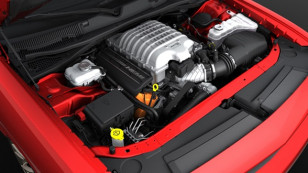 Supercharged 6.2-liter HEMI® Hellcat V-8 engine produces 707 ho