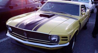 The Boss Mustang