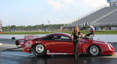 Behind The Wheel With Show Girl Dina Parise