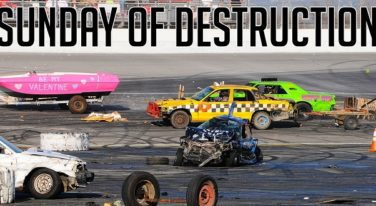 Day Of Destruction at Irwindale Speedway