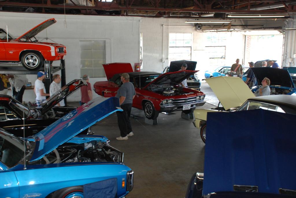 Solid Lifter Showroom at the Carlisle GM Nationals