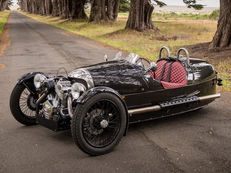 Morgan 3-Wheeler Photo: www.wallpaperup.com
