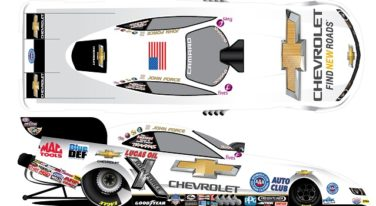 John Force Tries out New Look in Hopes of Success in Charlotte