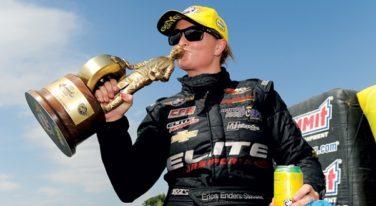 Erica Enders-Stevens Voted RACER of the Year