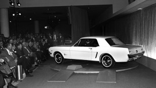 1964 World's Fair Ford Mustang Introduction