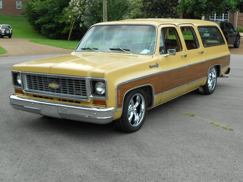 When was the last time you checked out a classic Chevy Suburban? Throw some air bags at the suspension, and then add some chrome wheels, and you have one cool—albeit big, beach cruiser. But, you can haul your friends, and quite a few coolers filled with beverages.