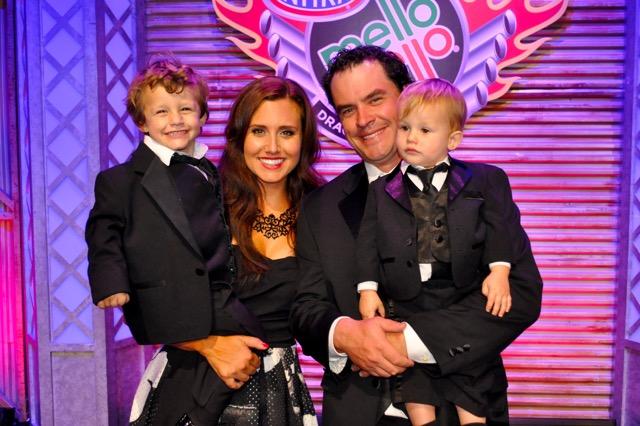 Ashley Force Hood Family