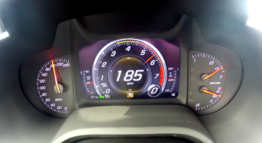 [Video] Stock Z06 0-185-MPH Run