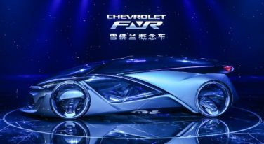 Chevy Concept Car Hits Shanghai