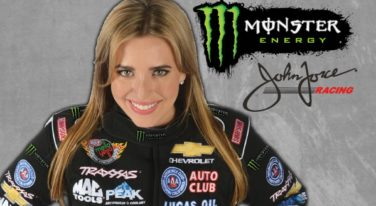 Brittany Force Partners Up with Monster Energy
