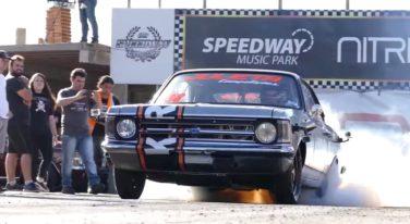 Burnout Friday: 1,500 Horsepower Chevrolet Opala