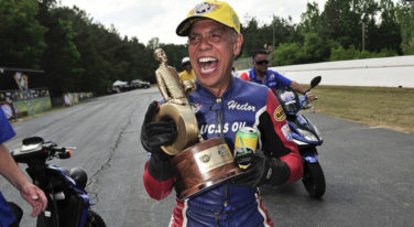 Brown, Wilkerson, Line and Arana Storm Atlanta with NHRA Victories