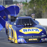 Capps Rocking to the Mello Yello Funny Car Points Lead