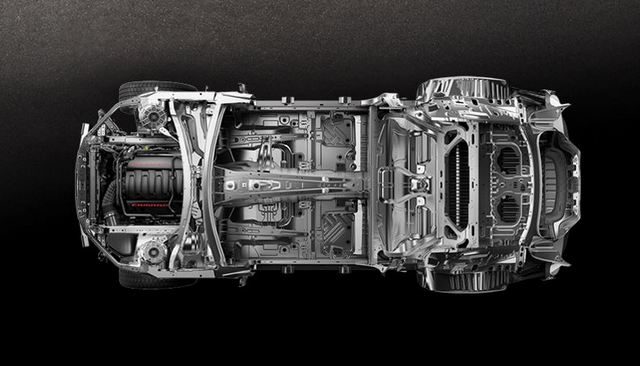 2016 Chevrolet Camaro Structure
