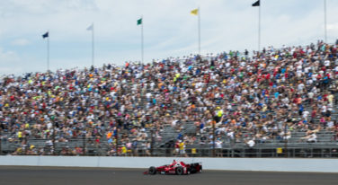 Montoya Wins 99th Indianapolis 500