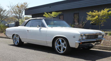 Jerry's 67 Chevelle Convertible