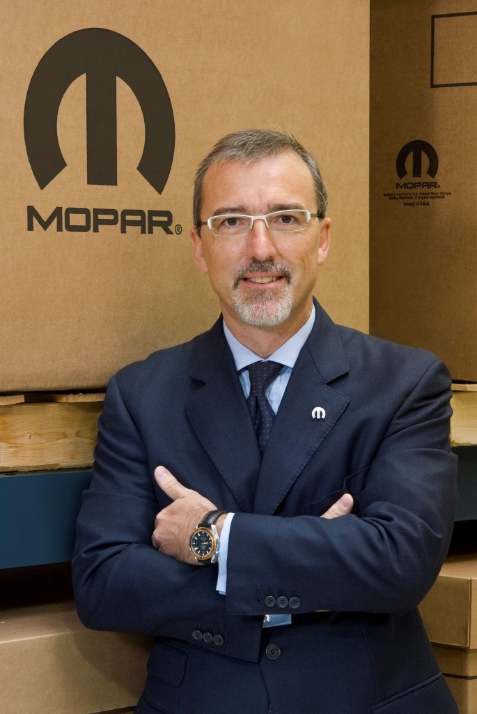 Pietro Gorlier, President and CEO of Mopar, is expanding the brand's global presence.