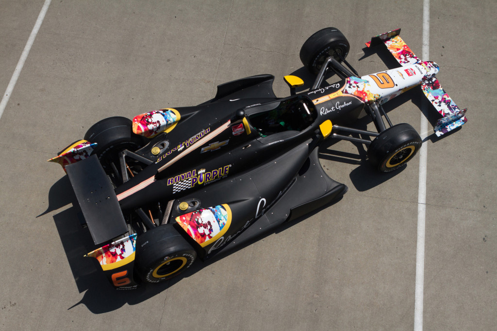 Royal Purple Sponsored Indy 500 Car - Credit Matt Mangino & KV Racing Technology