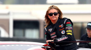 Behind the Wheel: Erica Enders-Stevens