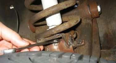 Safely Removing Coil Springs