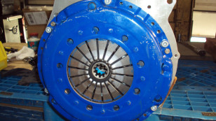 Photo: blogspot.com  Other than the colors, this is what your finished product should look like before mating up the transmission.