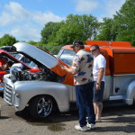 MHRA Rolling Repair Shop at 2015 Back to the 50s Weekend