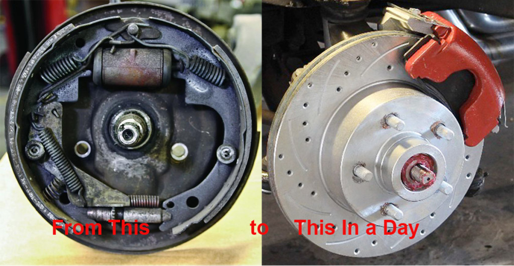 Converting From Drum to Disc Brakes, Dic Brakes, Drum Brakes, Disc Brake Conversion, Manual Brakes