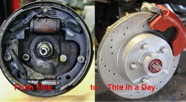 Converting From Drum to Disc Brakes