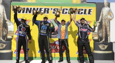 Antron Brown Defends Home Turf at NHRA Toyota Summernationals