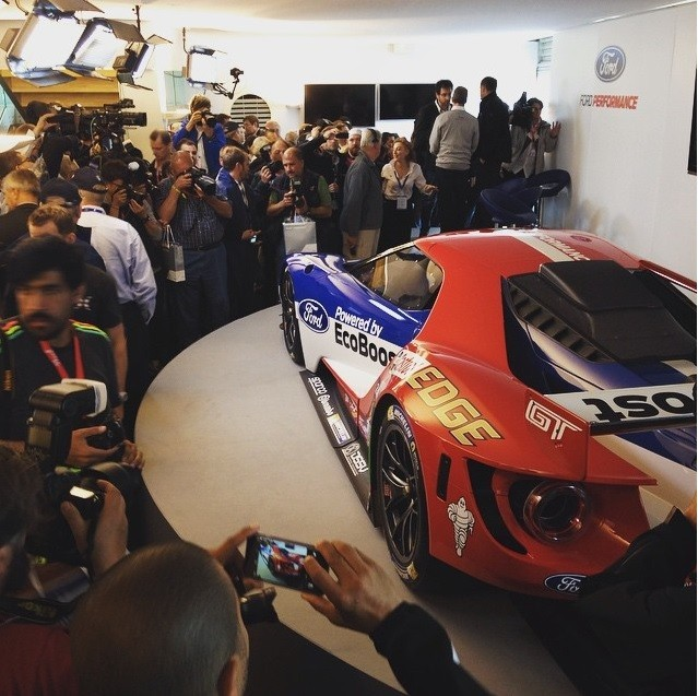 Ford GT Le Mans Reveal