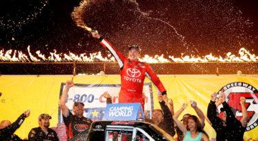 Christopher Bell Wins First NASCAR Truck Race at MudSummer Classic