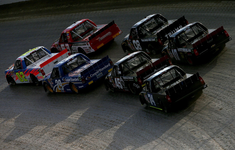 Car Racing On Dirt Track