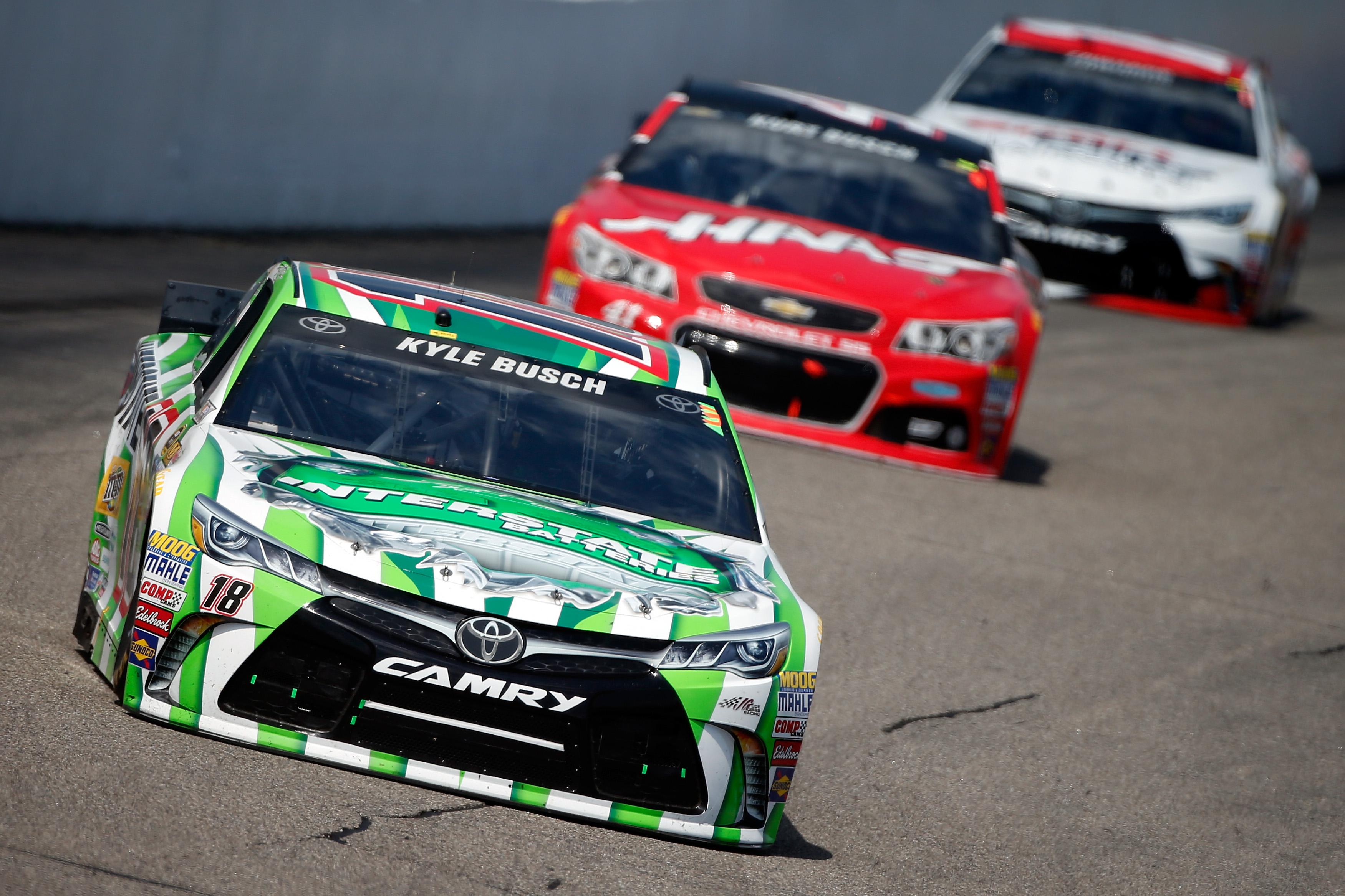 Kyle Busch Race Car