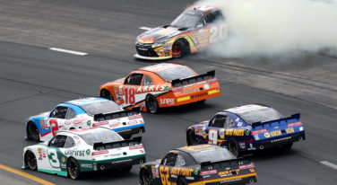 Hamlin Drives Roughshod Over Dillon and Busch at the Xfinity Series Lakes Region 200