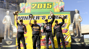 Torrence Climbs The Mountain to Denver's NHRA Top Fuel Title