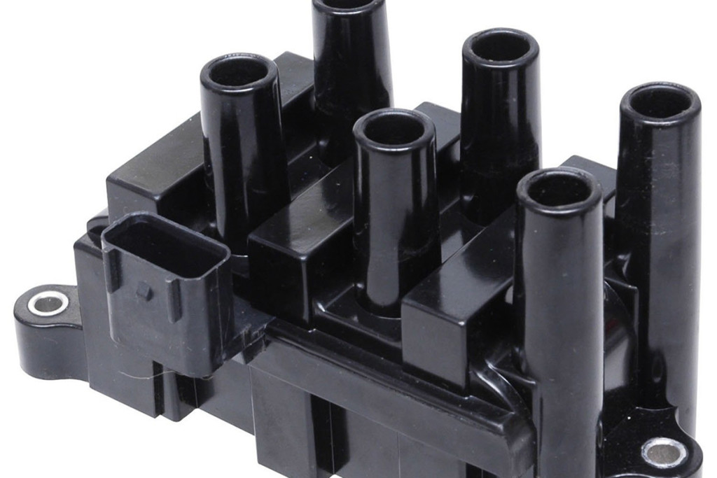 This is a coil pack for a six cylinder engine with DIS, distributorless ignition system.