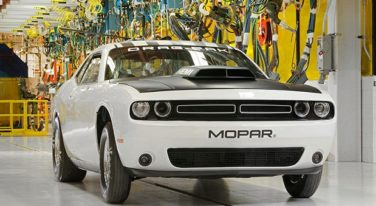 Mopar Announces Dodge Challenger Drag Pack
