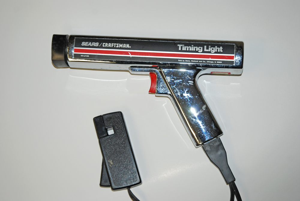 This is an old Sears timing light I regularly use. It's reliable and accurate.
