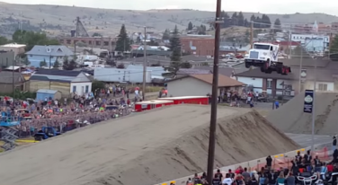 Semi Truck Breaks World Record with 166ft Jump