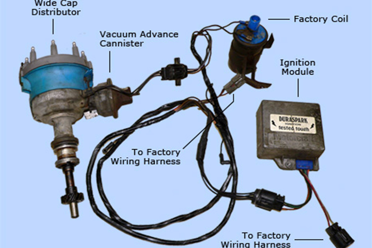 duraspark_sm converting from points to electronic ignition racingjunk news ford electronic ignition wiring diagram at virtualis.co