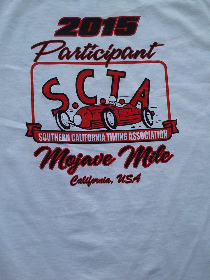 A T-Shirt design offered by SCTA.